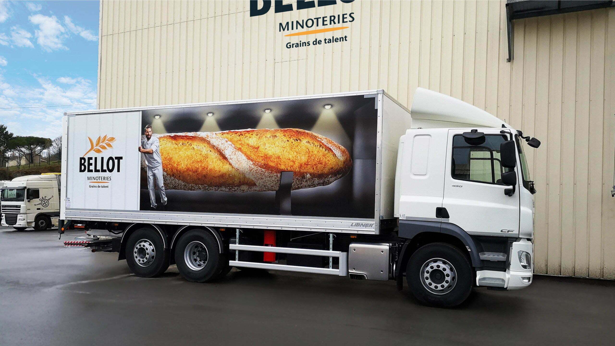Camion Bellot Minoteries